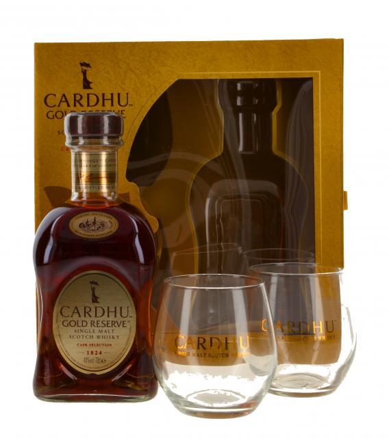 Cardhu Gold Reserve mit 2 Gläsern