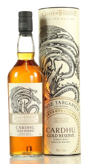 Cardhu Gold Reserve House Targaryen - Game of Thrones