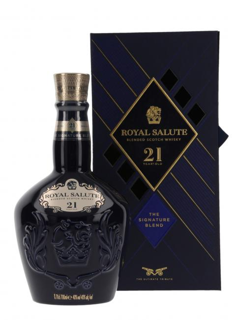 Chivas Royal Salute Keramikkrug - neues Design
