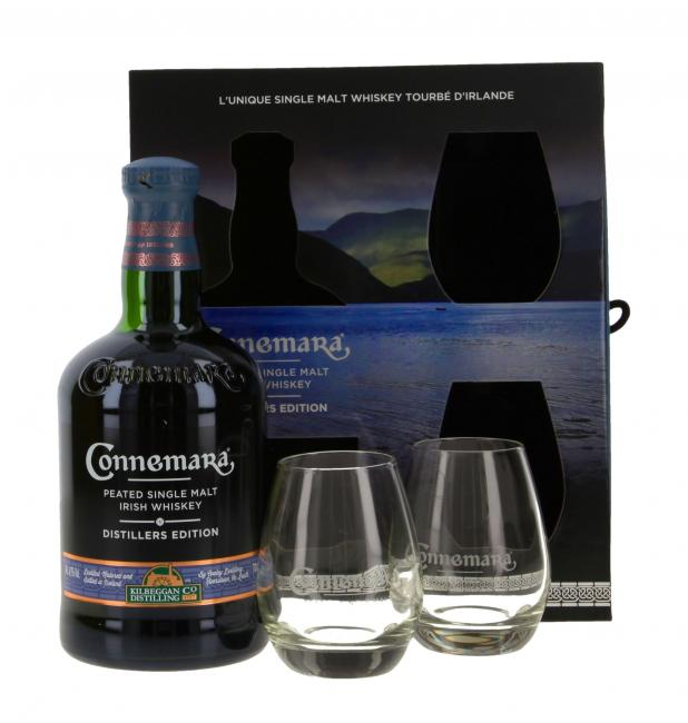 Connemara Distillers Edition mit 2 Gläsern