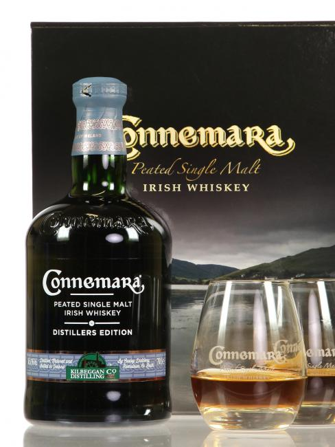 Connemara Distillers Edition mit 2 Gläsern