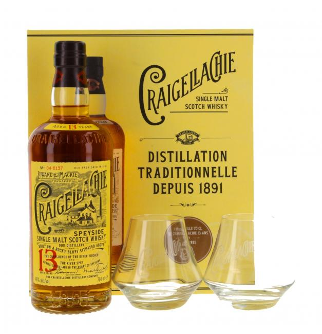 Craigellachie mit 2 Gläsern