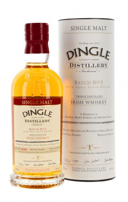 Dingle Single Malt Batch 5
