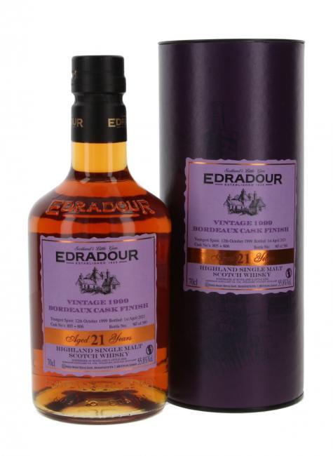 Edradour Bordeaux Finish Casks