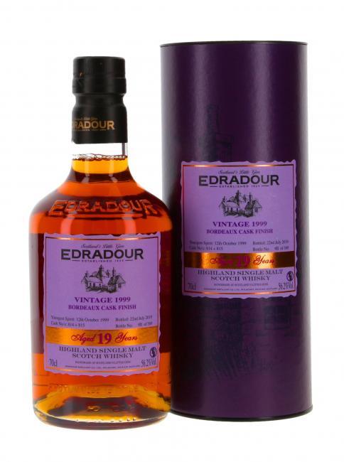 Edradour Bordeaux Finish