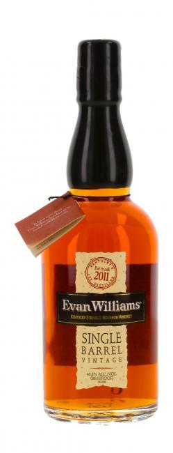 Evan Williams Single Barrel Vintage