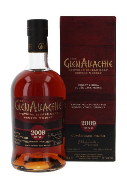Glenallachie Sherry & Rioja Cuvée Finish