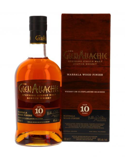 Glenallachie Marsala Finish Whisky.de exklusiv