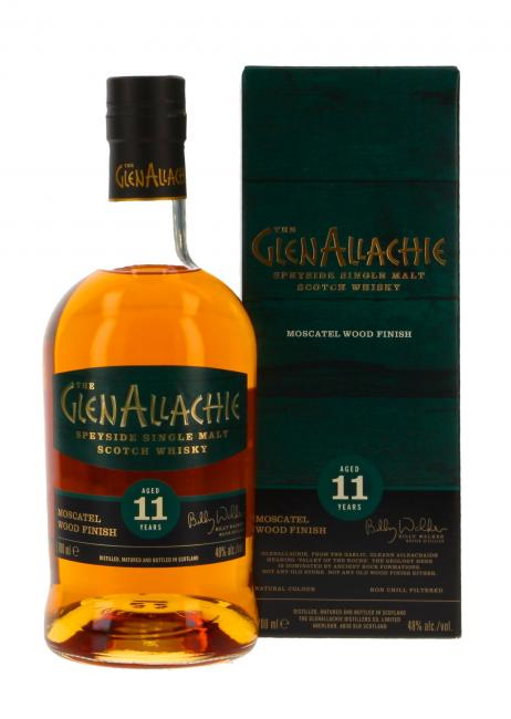 Glenallachie Moscatel Wood Finish