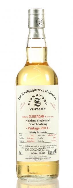 Glencadam 'Whisky.de exklusiv'
