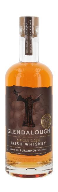 Glendalough Grand Cru Burgundy Cask Finish inkl. gratis Untersetzer mit irischen Whiskey-Marken