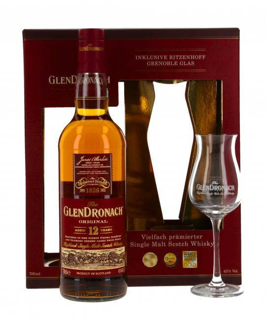 Glendronach mit Stielglas