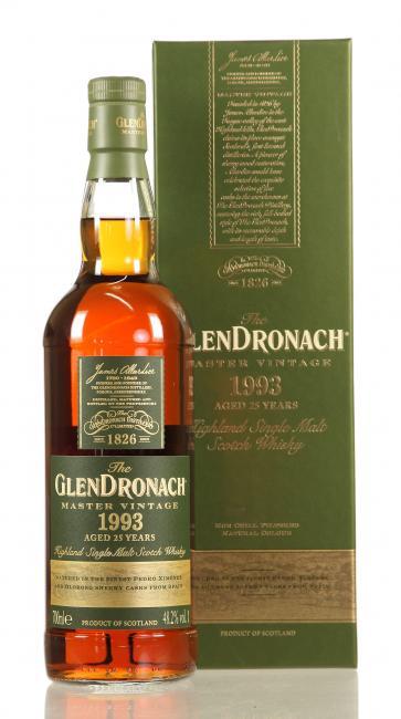 Glendronach Master Vintage