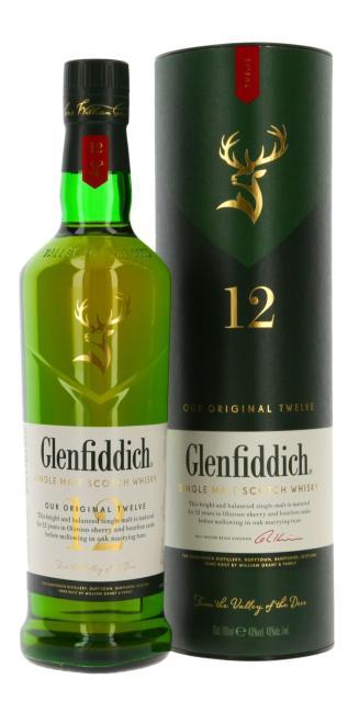 Glenfiddich Our Original Twelve