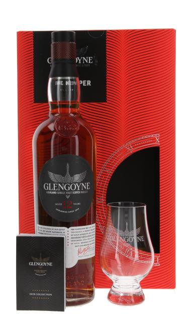 Glengoyne mit Glas