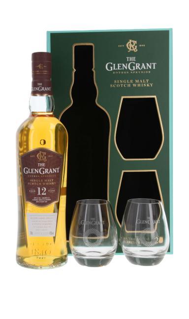 Glen Grant mit 2 Gläsern