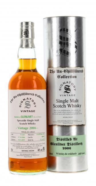 Glenlivet 'Whisky.de exklusiv'