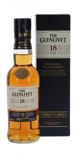 Glenlivet 43% 0,2 Liter