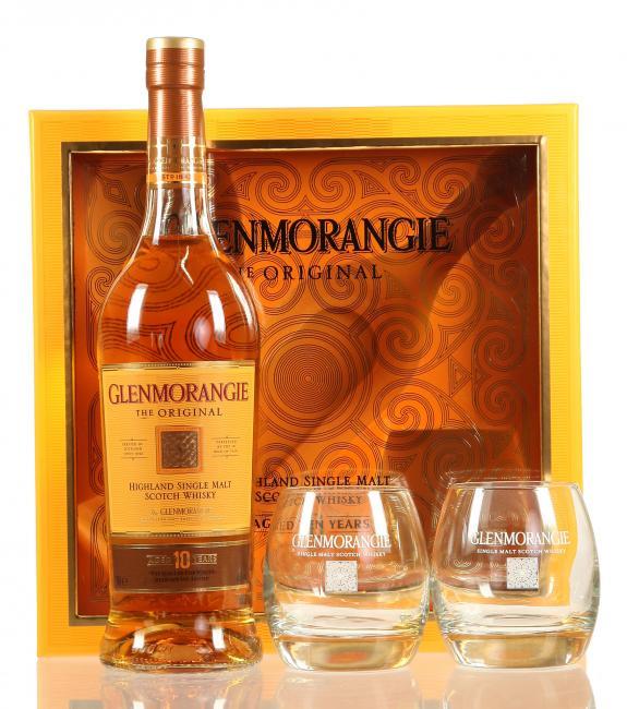 Glenmorangie Original mit 2 Gläsern