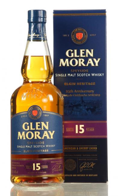 Glen Moray 'Whisky.de exklusiv' - Clubflasche 2018