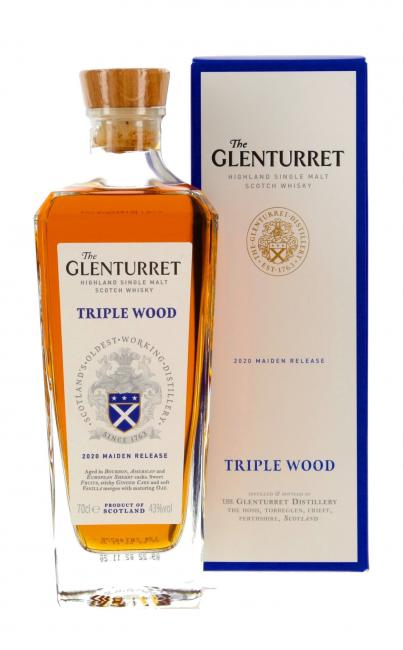 Glenturret Triple Wood - neues Design