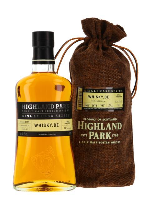Highland Park Single Cask 'Whisky.de exklusiv'