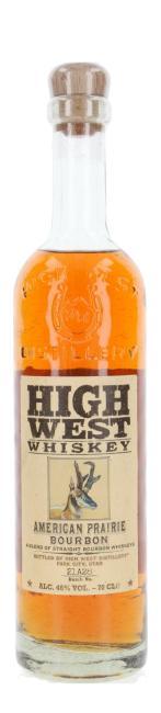 High West Prairie Bourbon