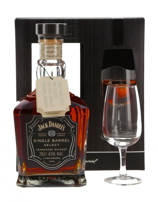 Jack Daniel's Single Barrel mit Nosingglas