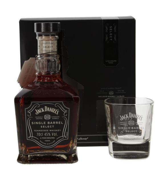 Jack Daniel's Single Barrel mit Tumbler