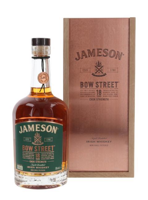 Jameson Bow Street Cask Strength