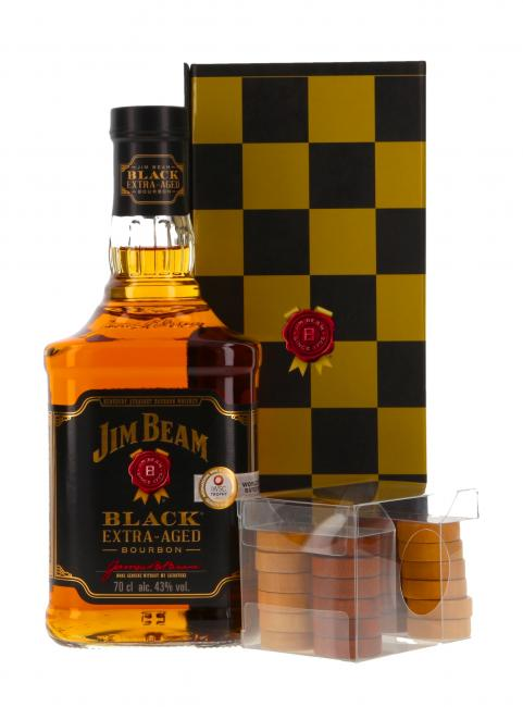 Jim Beam Black Checkers Pack