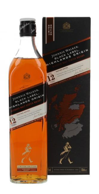 Johnnie Walker Black Label Highlands Origin
