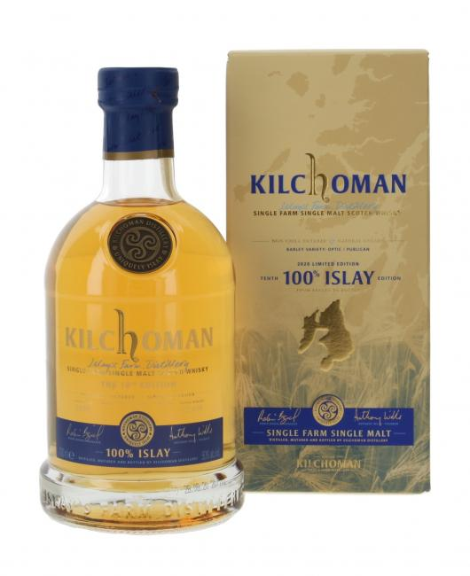 Kilchoman 100% Islay 10th Release