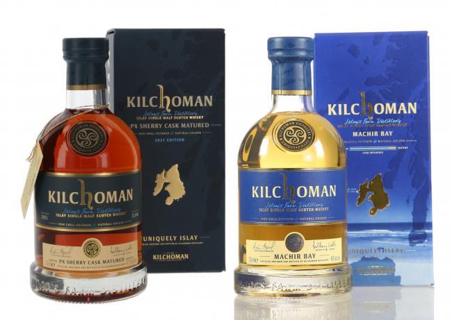Set Kilchoman PX Sherry Cask Matured + Machir Bay