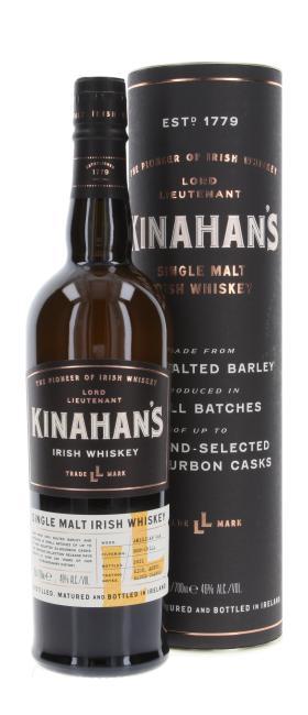 Kinahan's Single Malt inkl. 2 gratis Stielgläser Kinahan's