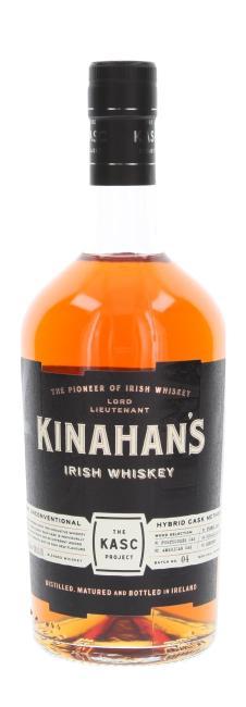 Kinahan's Kasc Project inkl. gratis Stielglas Kinahan's