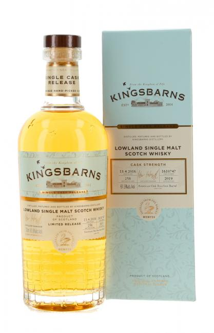 Kingsbarns Single Cask Release
