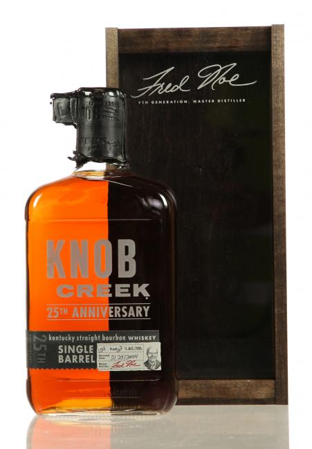 Knob Creek Single Barrel 25th Anniversary