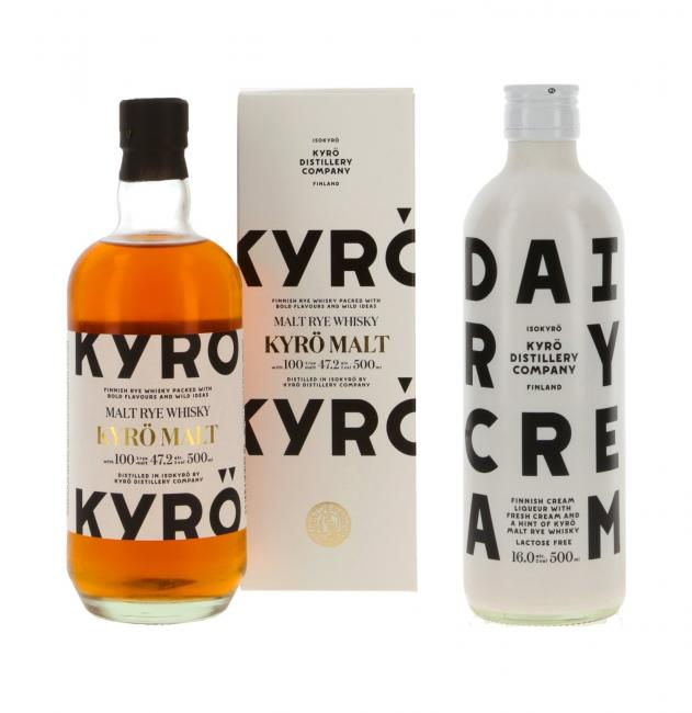 Kyrö Malt Rye inkl. gratis Kyrö Dairy Cream