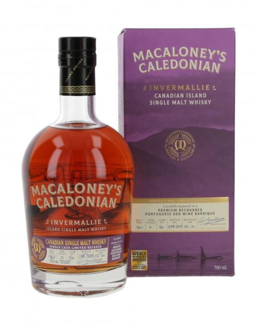 Macaloney's Caledonian Invermallie Red Wine Cask