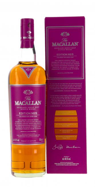 Macallan Edition No. 5