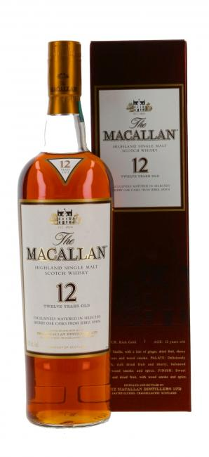 Macallan Sherryfass 43%
