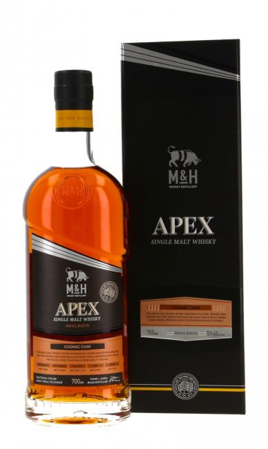 M&H Apex Small Batch Cognac Cask Finish