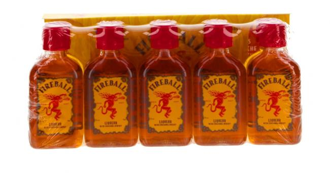 Miniatur Fireball - 10er Pack
