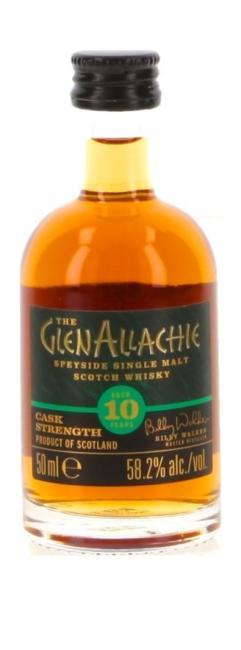 Miniatur GlenAllachie Cask Strength