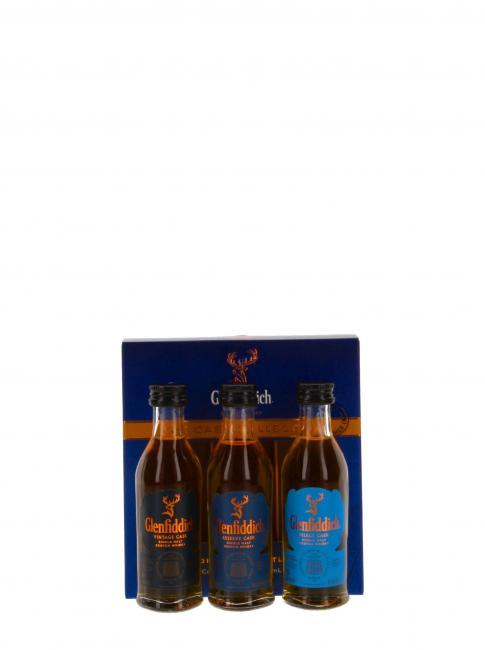 Miniatursortiment Glenfiddich Cask Collection
