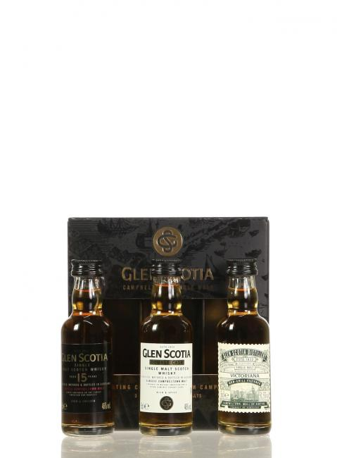 Miniatursortiment Glen Scotia