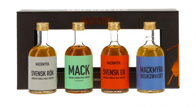 Miniatursortiment Mackmyra Classic Collection