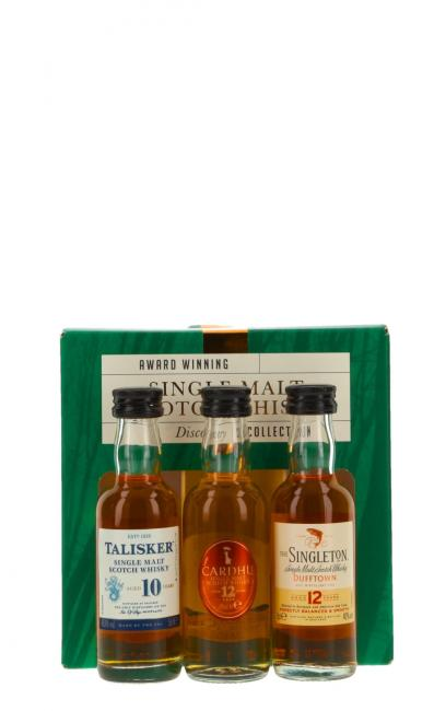 Miniatursortiment Single Malt Whisky Collection