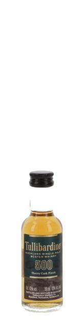 Miniatur Tullibardine 500 Sherry Finish